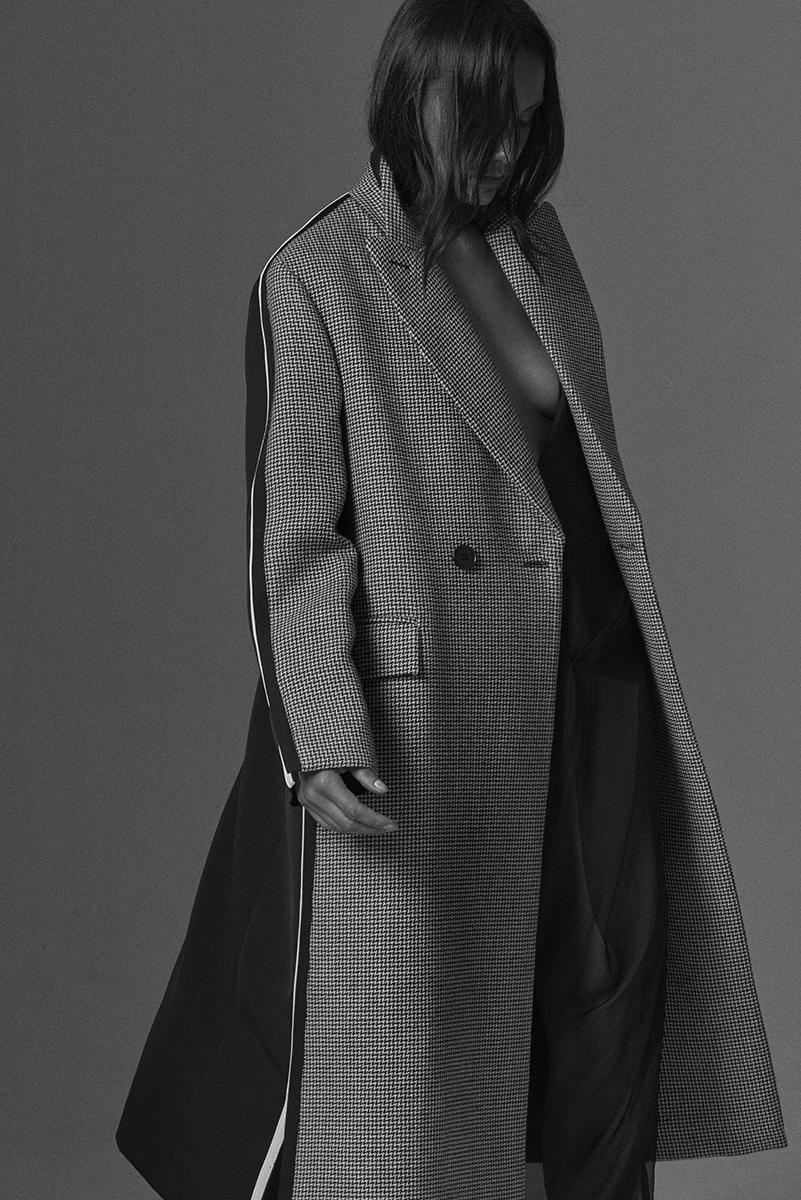 Alex Hutchinson Fashion shot at Bond Street