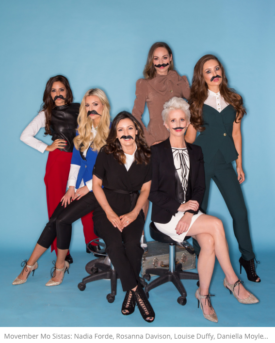 Movember Ladies by Kip Caroll