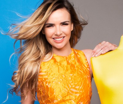 Nadine Coyle for TK Maxx with Barry McCall