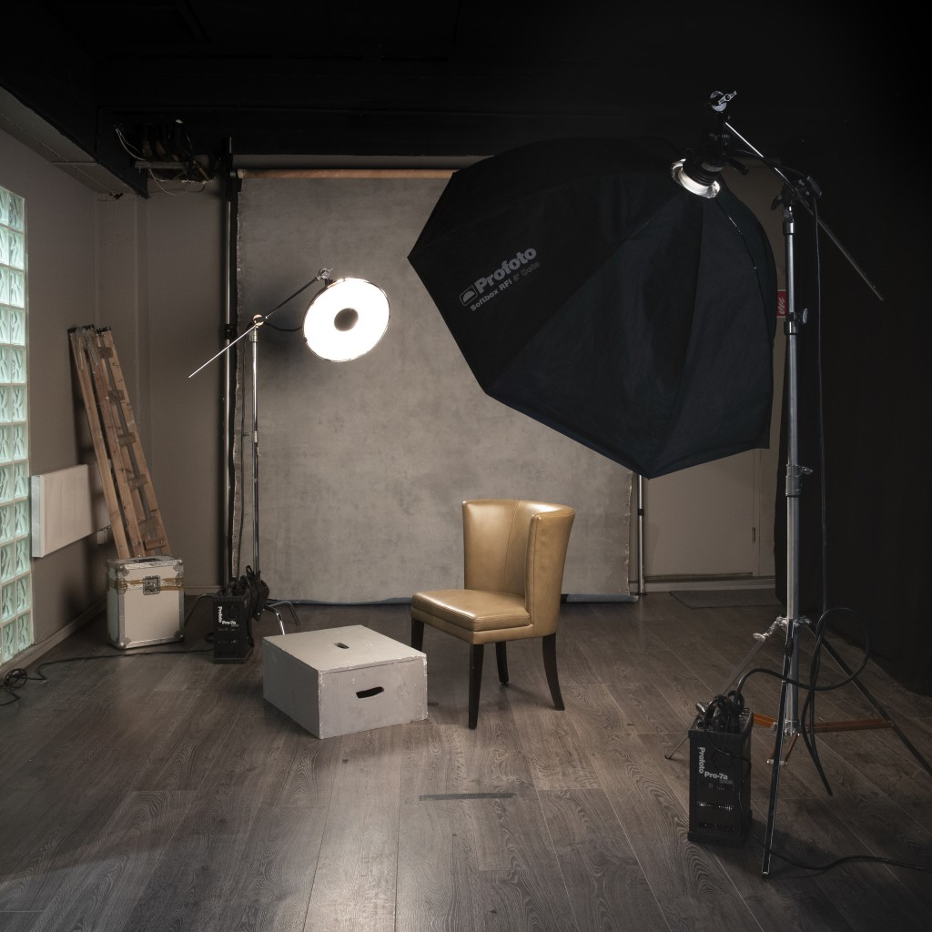Portrait Studio at Bond Street Dublin