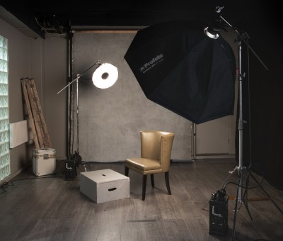 Portrait Studio at Bond Street Studios, Dublin
